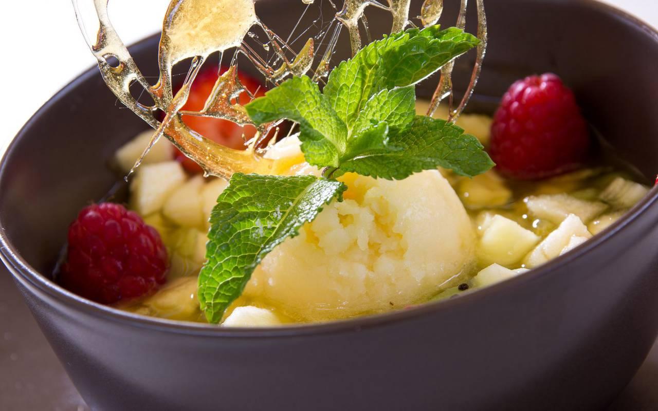 dessert frucht restaurant issoire