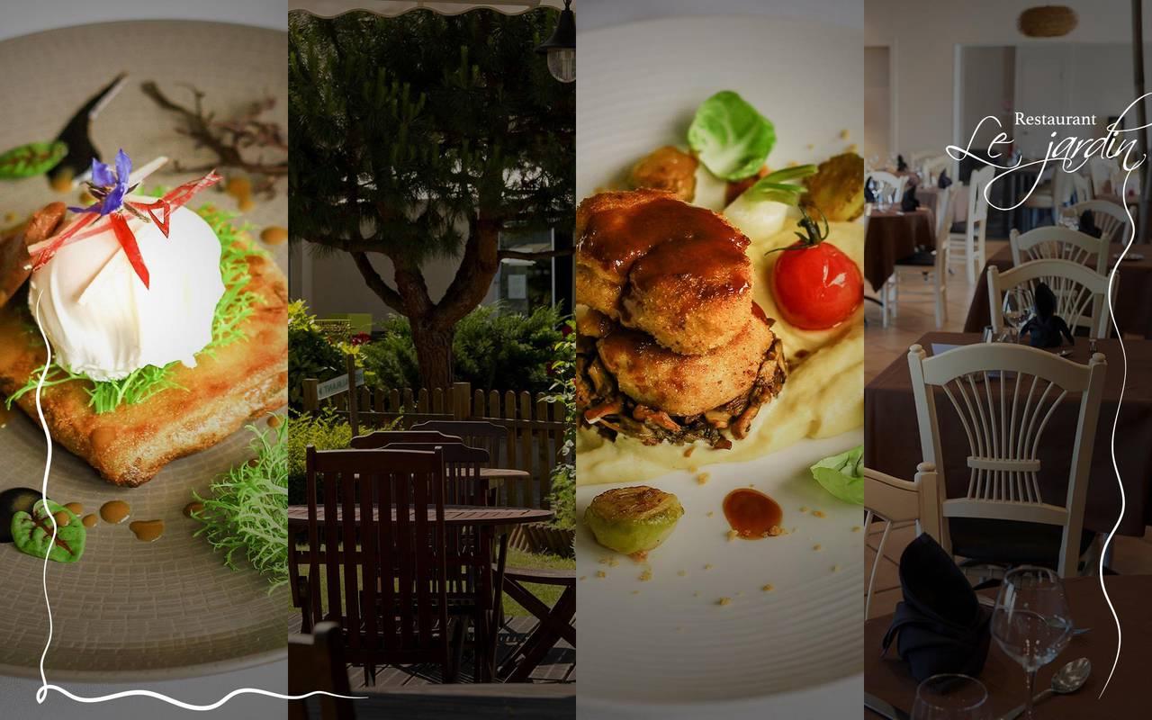 restaurant le jardin, restaurant clermont ferrand