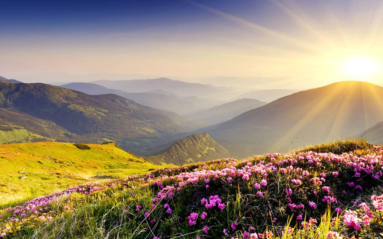 landscape nature auvergne
