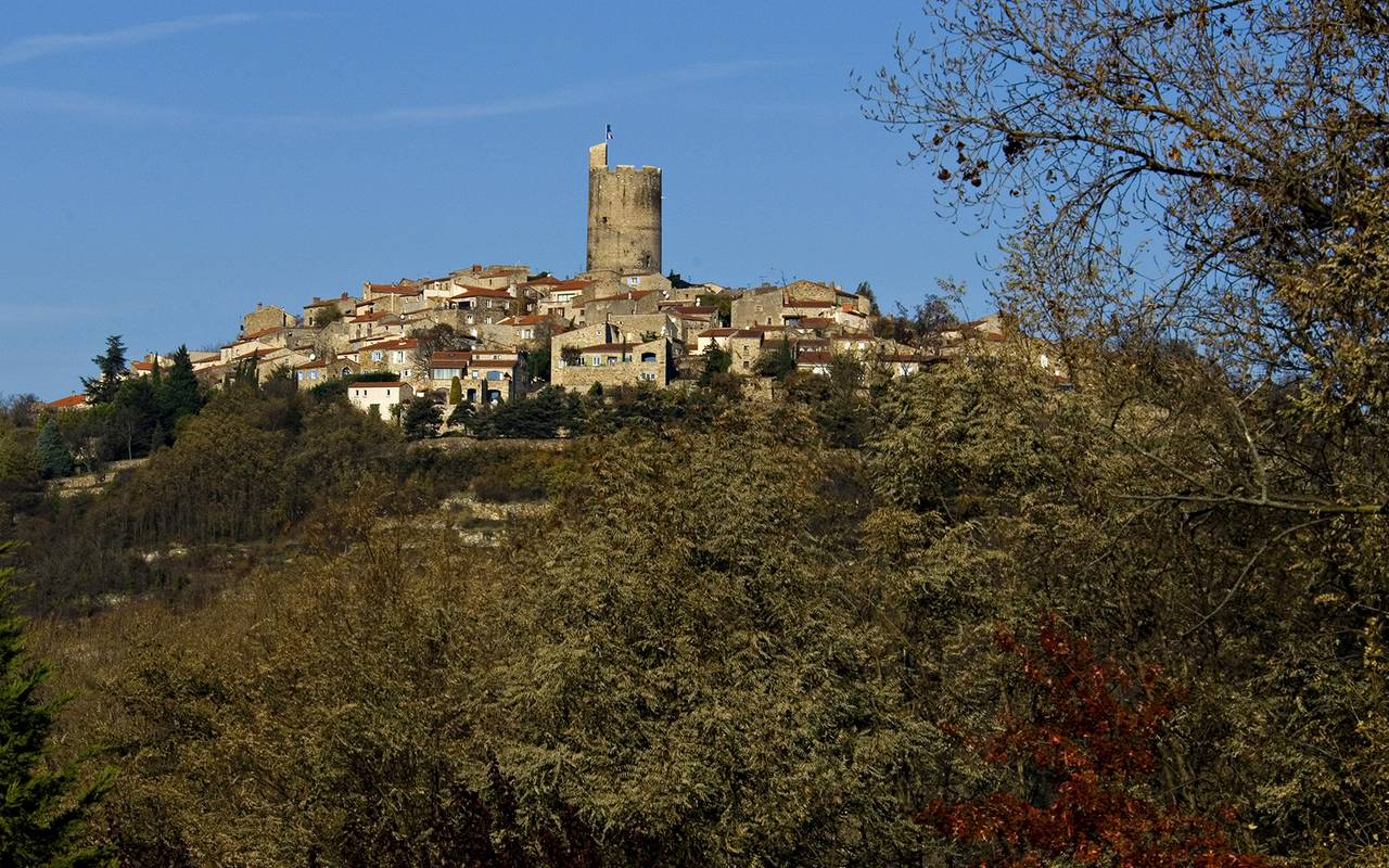 old village auvergne