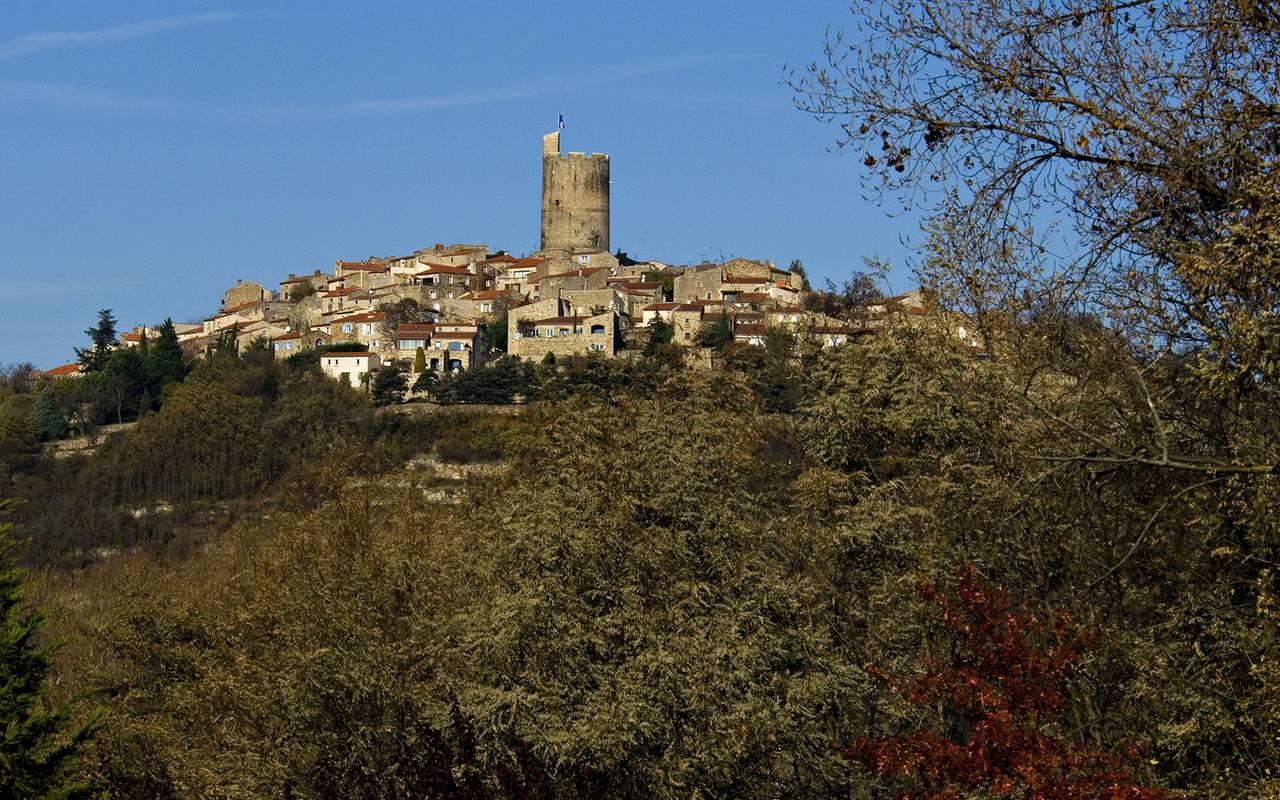 old village auvergne