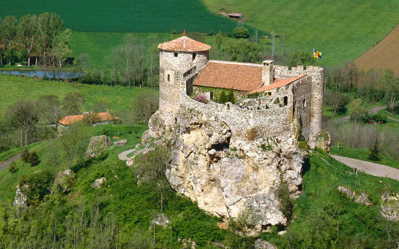 chateau route historique auvergne
