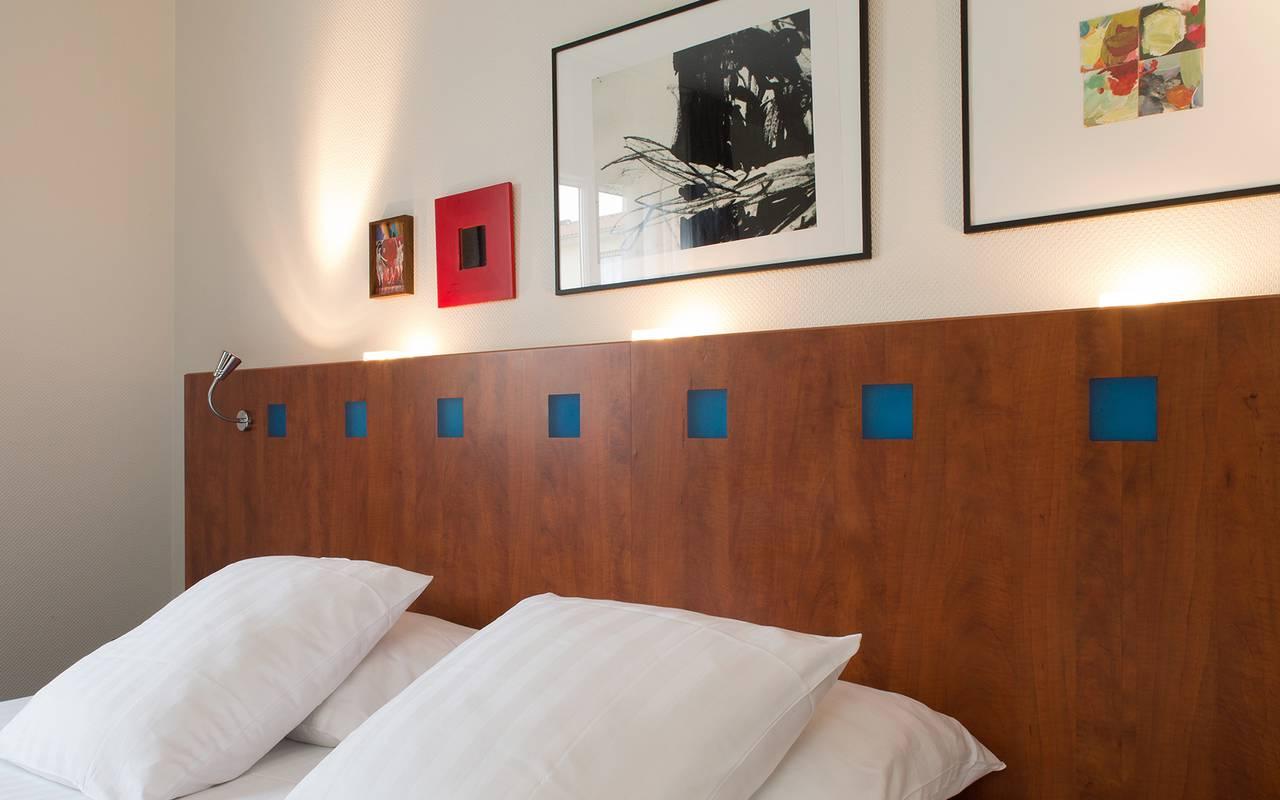 chambre double hotel issoire