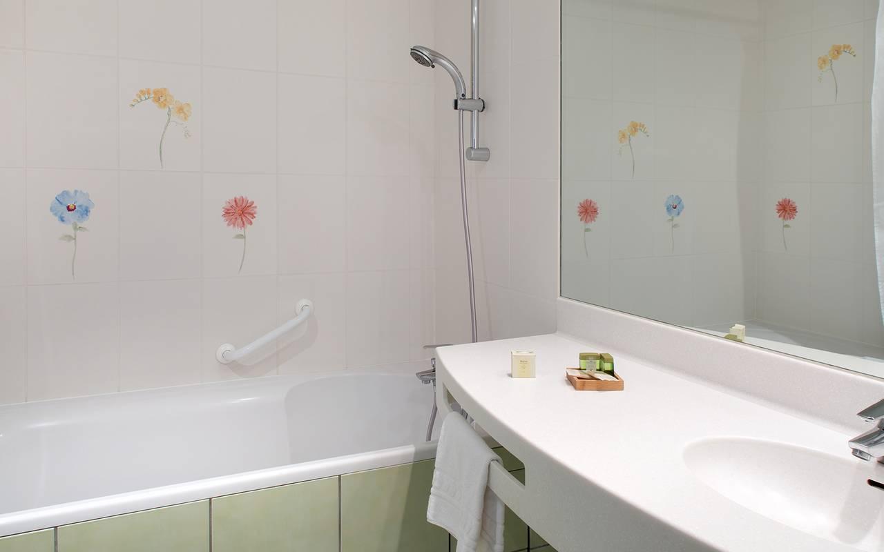 salle de bain confort hotel