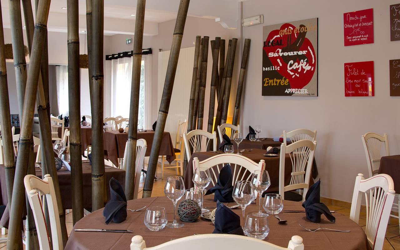 table restaurant issoire