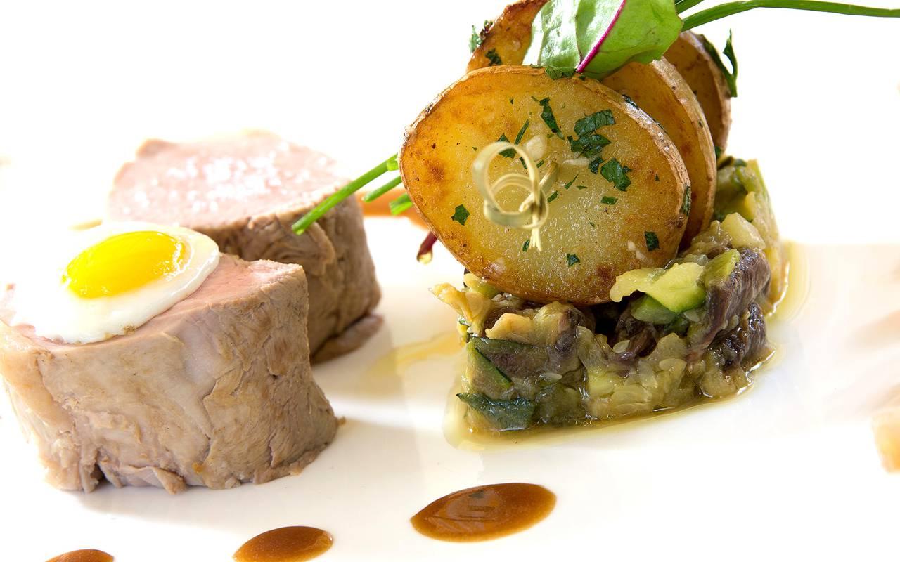cuisine hotel luxe issoire