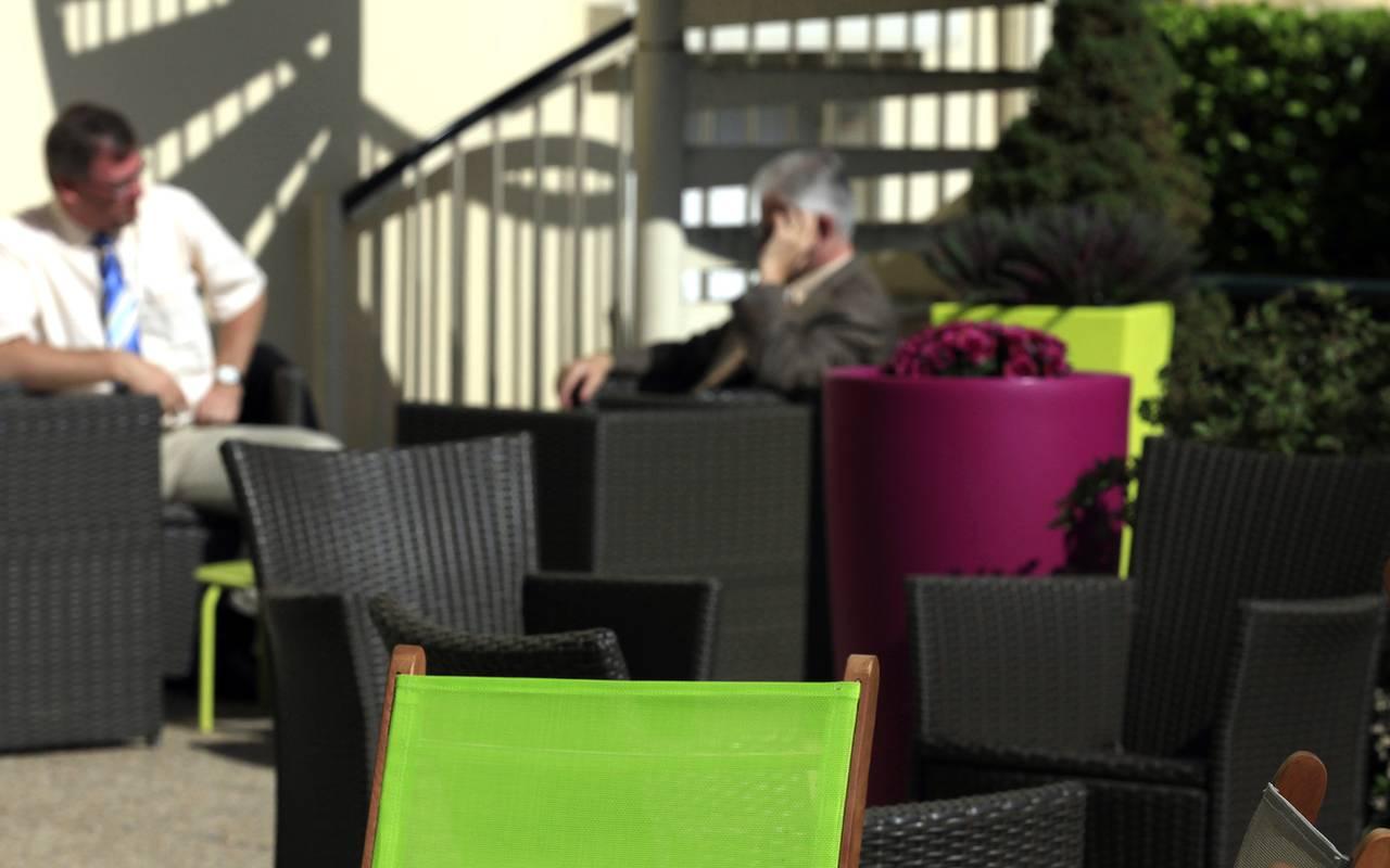 seminaire terrasse hotel issoire