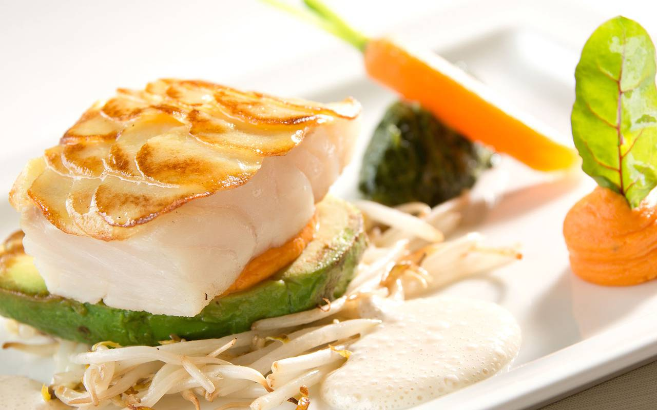 plat poisson diner restaurant issoire