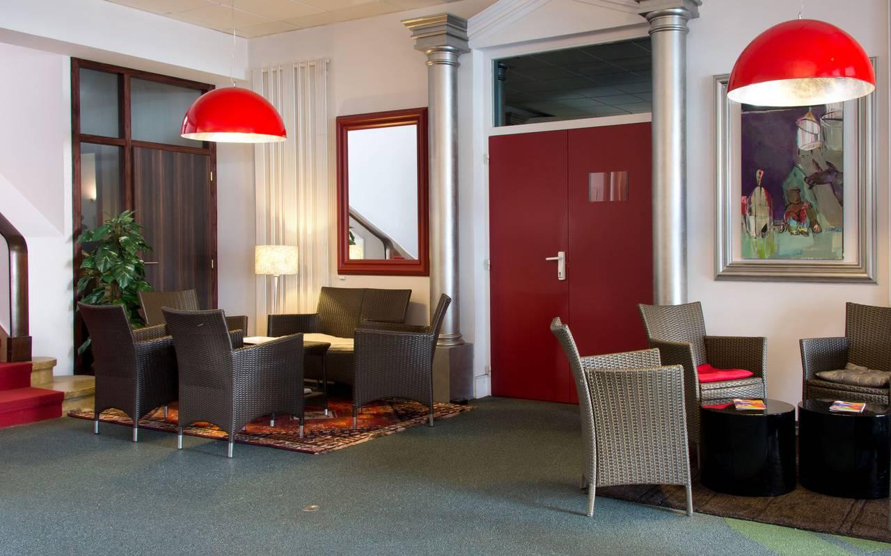 salon fauteuil hotel