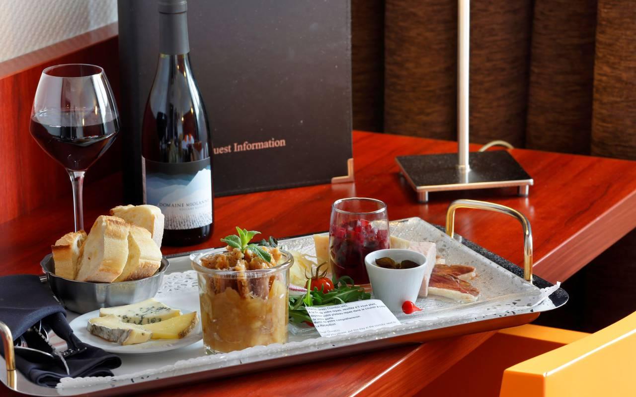 room service, hôtel restaurant Puy de Dôme